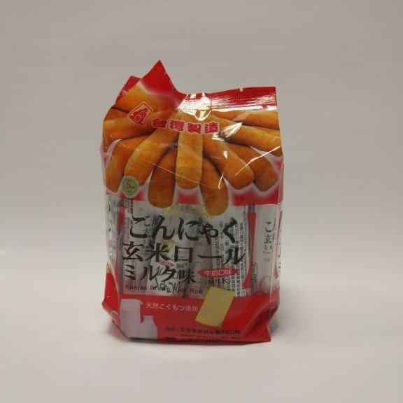 北田蒟蒻糙米卷牛奶口味 Konjac Brown Rice Roll - Milk 160g