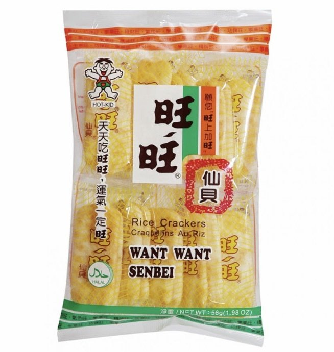 Want Want Senbei Rice Cracker 112g