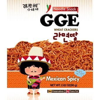 GGE Wheat Crackers - Mexican Spicy 80g