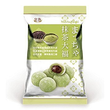 Royal Family Matcha&Redbean Mochi 120g