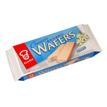 Garden Cream Wafers Vanilla 200g