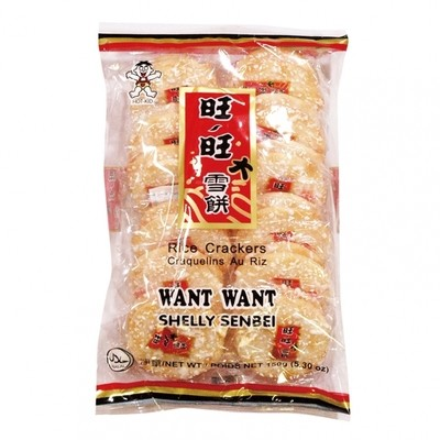 Want Want Shelly Senbei Rice Crackers 84g