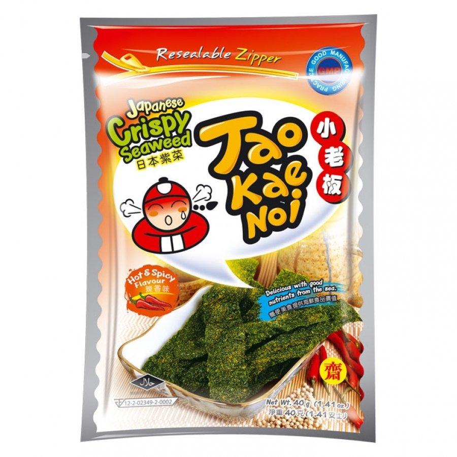 Taokaenoi Crispy Seaweed Hot & Spicy 36g