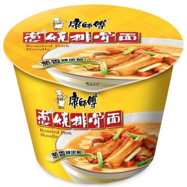 Master Kong Roasted Pork Ribs Noodle Bowl 105g