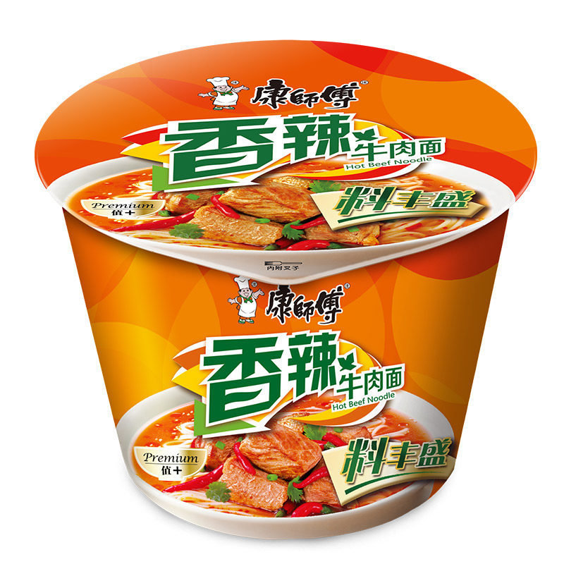Master Kong Spicy Beef Noodle Bowl 105g