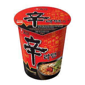 农心辛拉面杯面 Nongshim Shin Cup Noodle Soup 68g