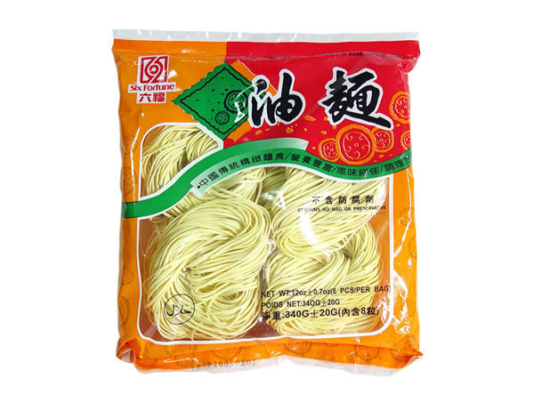 Six Fortune Dried Noodle (Yu Meng) 340g