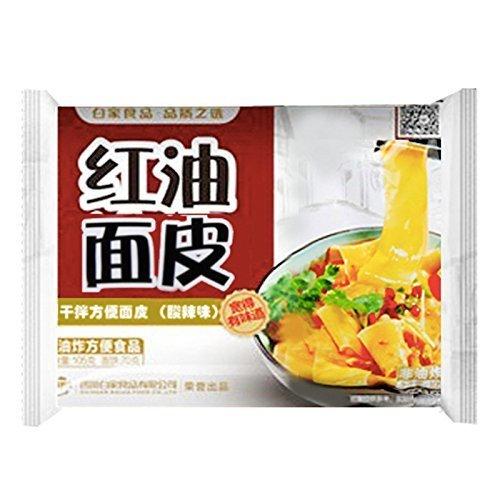 BJ Sichuan Broad Noodles -Sour & Hot 115g