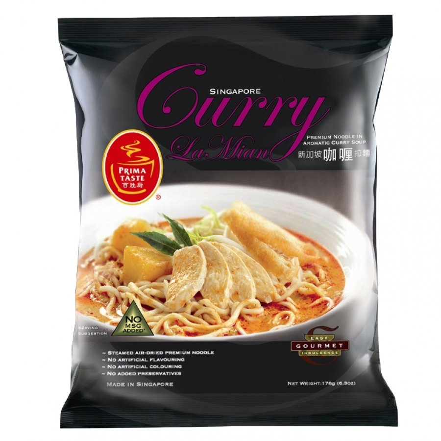 Prima Taste Singapore Curry La Mian 178g
