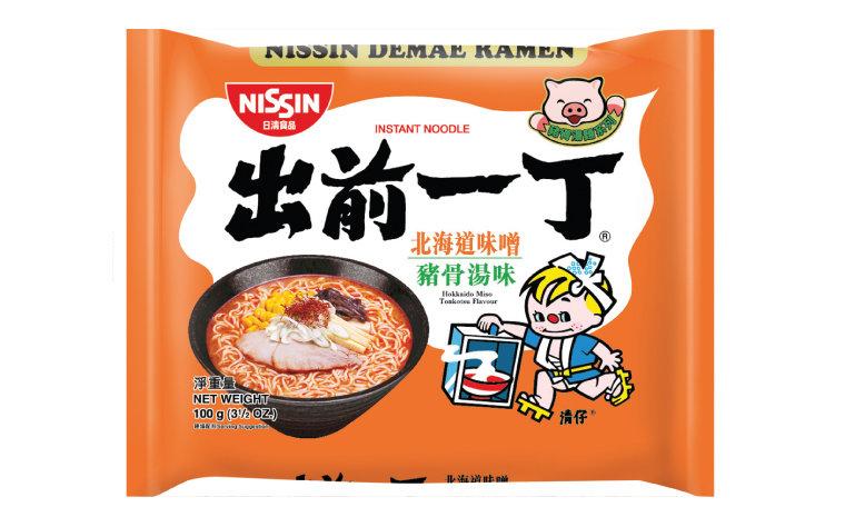 Nissin Demae Ramen - Hokkaido Miso Tonkotsu 100g