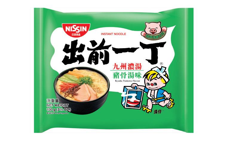 出前一丁九洲猪骨浓汤味 Nissin Demae Ramen - Kyushu Tonkotsu 100g