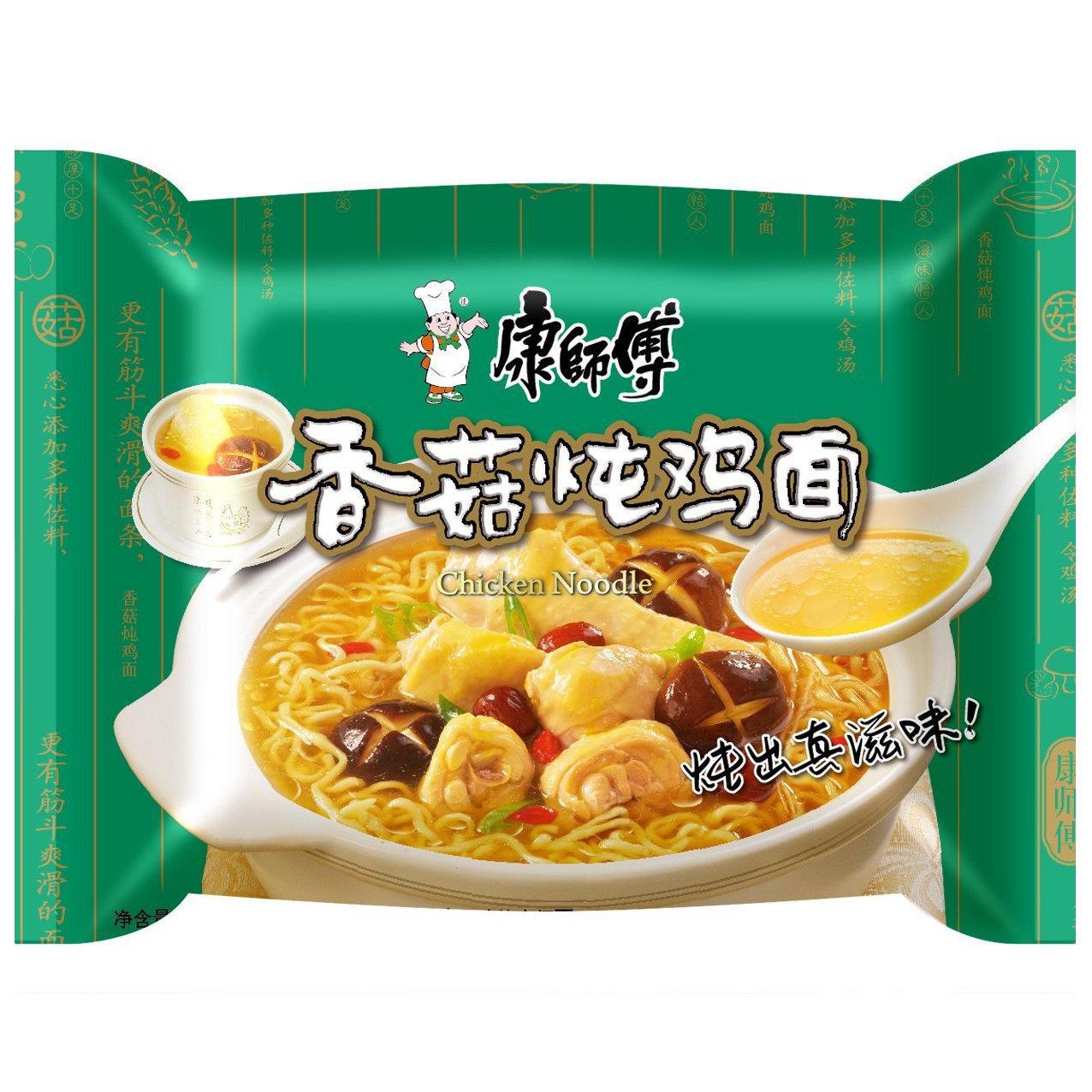 Master Kong Chicken & Mushroom Noodle 100g