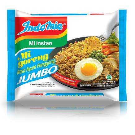 Indomie Jumbo Noodle BBQ Chicken 128g