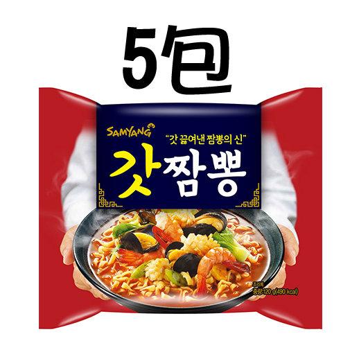 Samyang Champong Noodle 5 packs