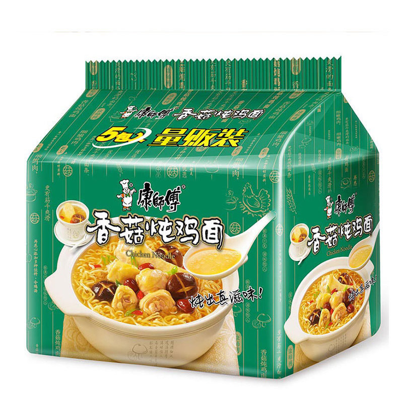 Master Kong Chicken & Mushroom Noodle 5 packs