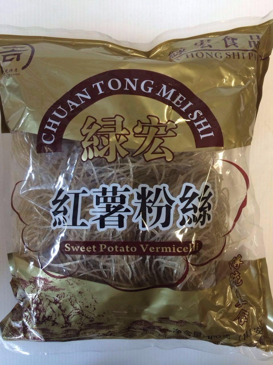 绿宏红薯粉丝 LH Sweet Potato Vermicelli 400g