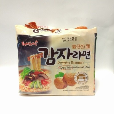 Samyang Potato Ramen 5 packs