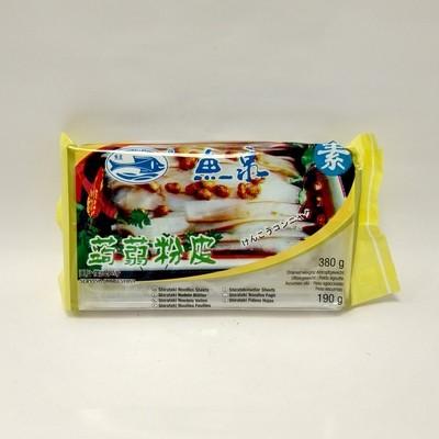 鱼泉蒟蒻粉皮 Fishwell Shirataki Noodles Sheets 380g