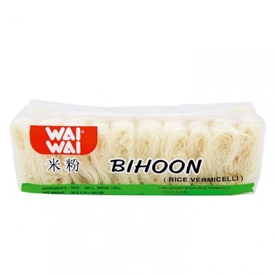 Wai Wai Rice Vermicelli (Bihoon) 10 x 50g