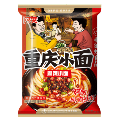 BJ Chongqing Noodle -Spicy&Hot 100g