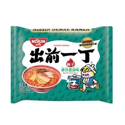 Nissin Demae Ramen - Super Hot Tonkotsu 100g