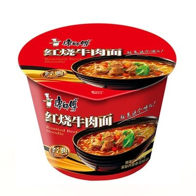 Master Kong Roasted Beef Noodle Bowl 105g