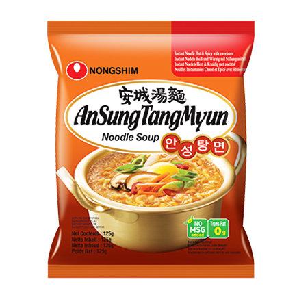 农心安城汤面 Nongshim Ansungtangmyun Noodle 125g