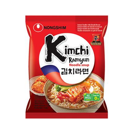 Nongshim Kimchi Ramyun Noodle 120g