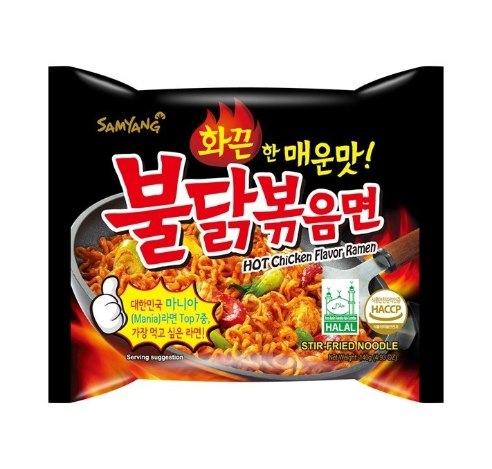 Samyang Hot Chicken Flavor Ramen 140g