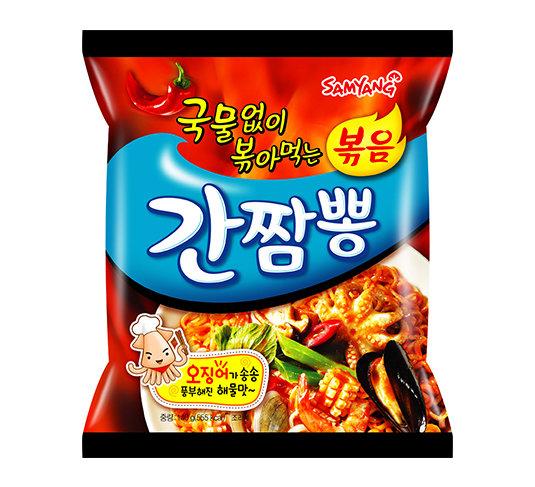 Samyang Ganchampong Spicy Seafood Stir-fried Noodle 140g