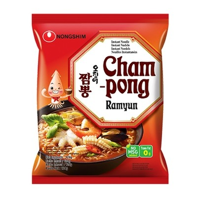 Nongshim Champong Ramyun Noodle 124g