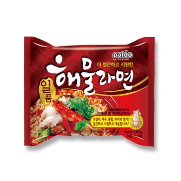 Paldo Seafood Noodle Soup 120g