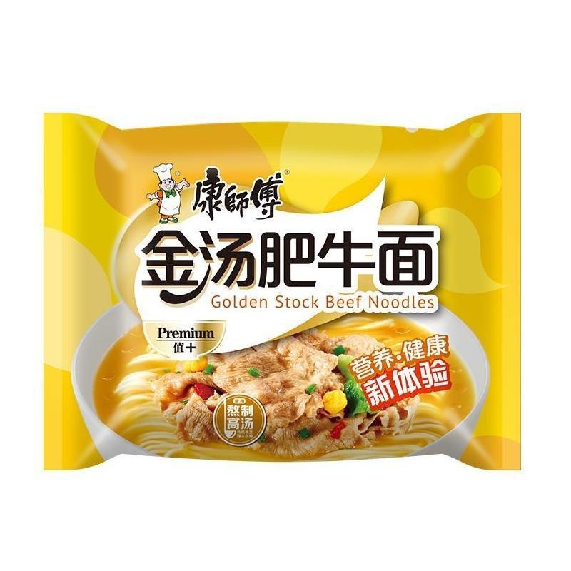 Master Kong Golden Stock Beef Noodles 108g