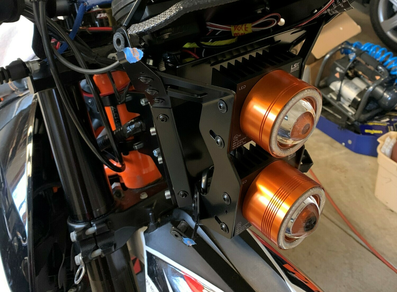 Motorcycle LED Headlight module XH1
