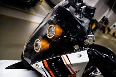 Motorcycle LED Headlight XH1 - Bike specific kit