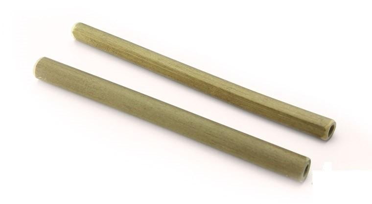Bamboe rietje 10x180mm, verpakt per 300 stuks