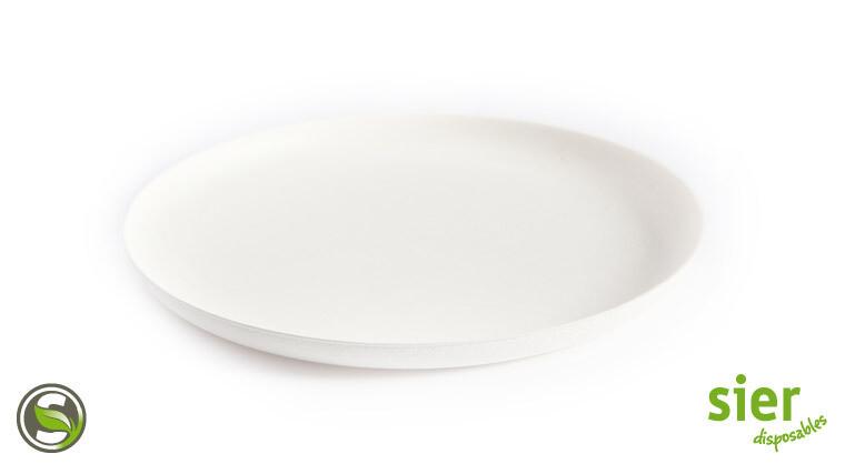Bagastro bord rond 24cm, 40 stuks