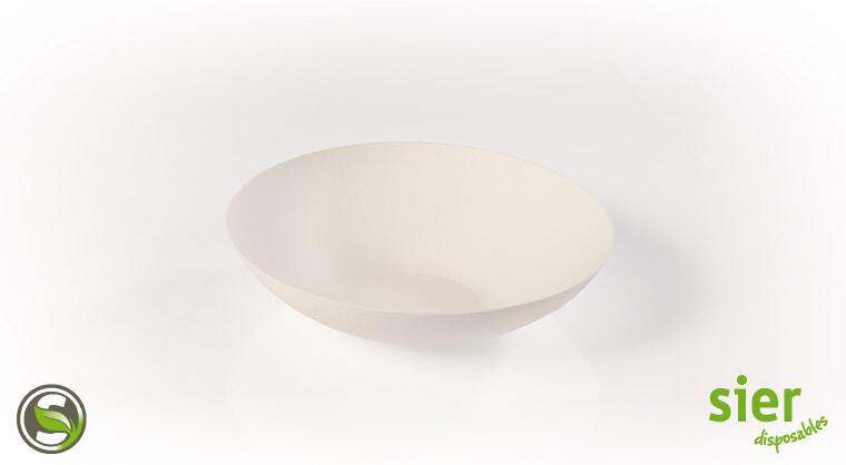 Bagastro diep bord rond 18cm, 240 stuks