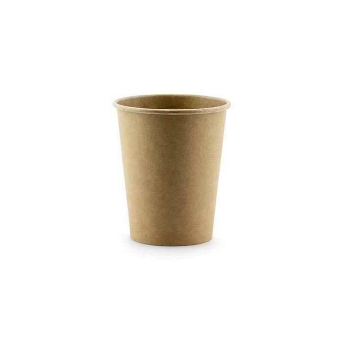 Kraftpapieren espressobeker 4oz/120ml, 100stuks