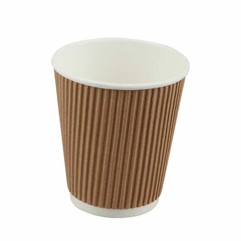 Papieren ripple cup, 12 oz/350ml, 25 stuks