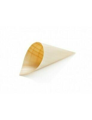 Houtpapier cone 12cm, verpakt per 50 stuks