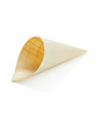 Houtpapier cone 18cm, verpakt per 50 stuks