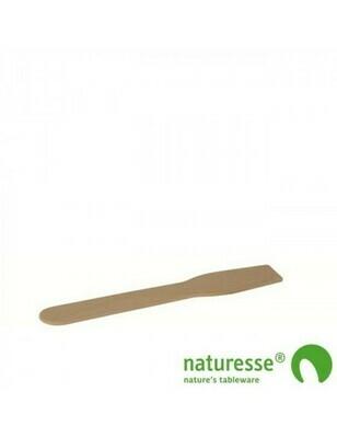 FSC® houten ijslepel 96mm Verpakt per 10.000 stuks