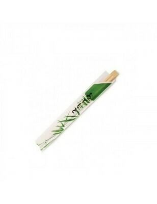 Bamboe eetstokjes in sachet, 200mm, verpakt per 100 stuks