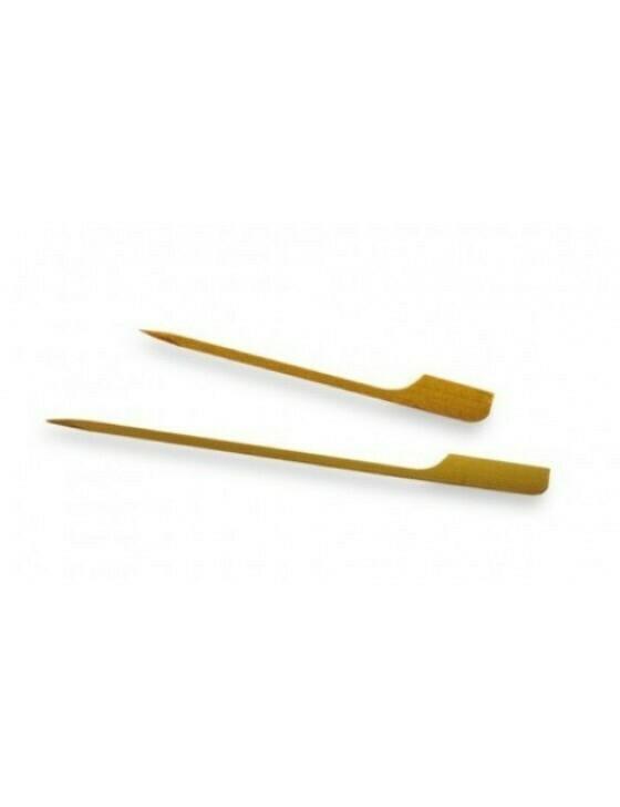 Bamboe golfprikker 9cm, verpakt per 100 stuks