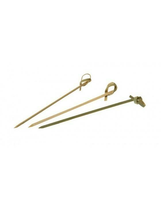 Bamboe knoopprikker 15cm, verpakt per 100 stuks