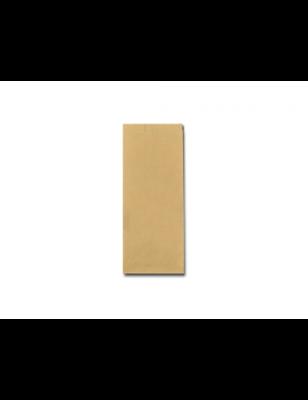 FSC® papieren snackzak 10+6x21cm nr.23 (1½ ons), verpakt per 10kg/ 2200 stuks