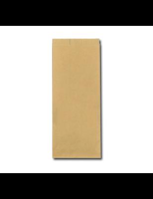 FSC® papieren snackzak 13+8,5x32cm nr.27 (1 pond) verpakt per 10kg/1100 stuks