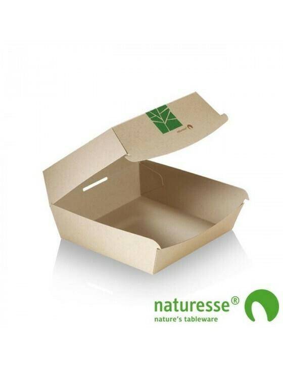 Paperwise hamburgerbox 150x100x70mm Verpakt per 500 stuks