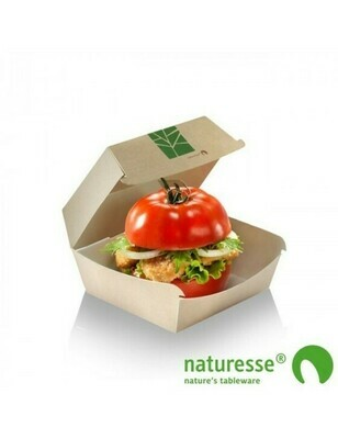Paperwise hamburgerbox 160x155x90mm Verpakt per 300 stuks